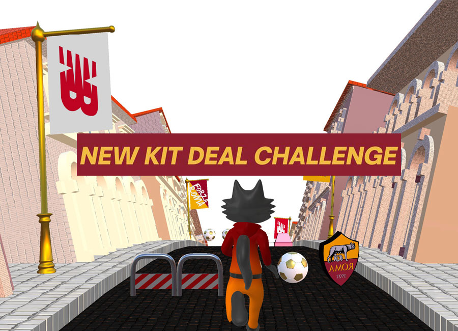 New Deal Kit Challenge - AS Roma X New Balance