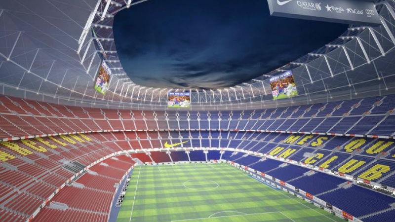the first details have been revealed of what the new Camp Nou would look like