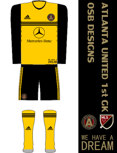 Atlanta United FC Home GK Kit