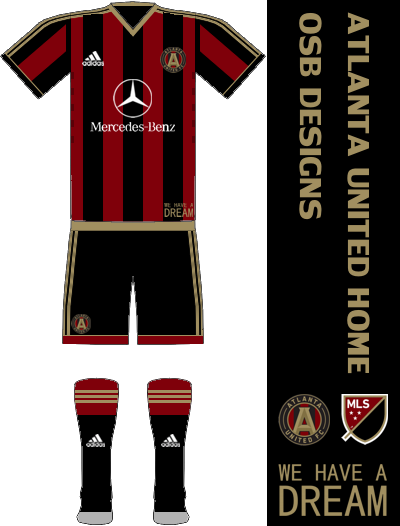 Atlanta United FC Home Kit