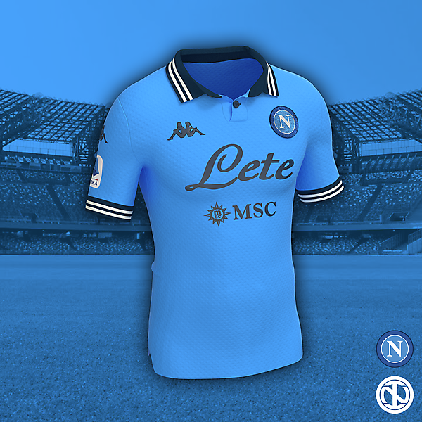 SSC Napoli | Home Kit Concept