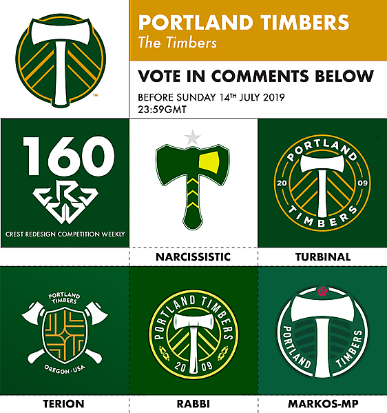 CRCW 160 PORTLAND TIMBERS VOTING
