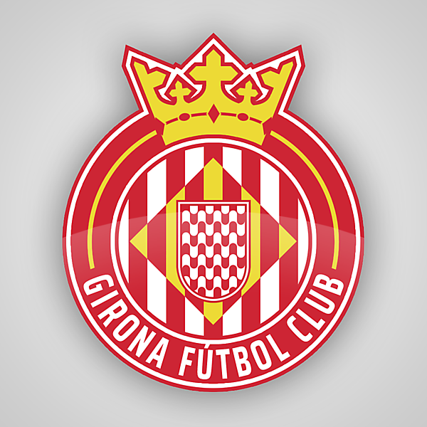 Girona FC | Crest Redesign