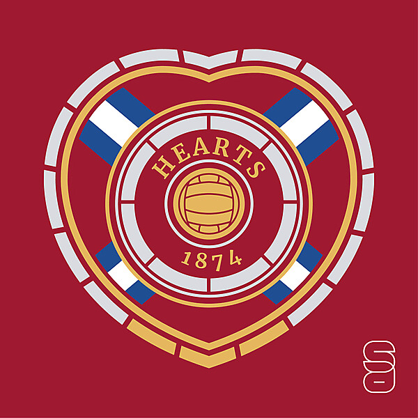 Heart Of Midlothian Crest Redesign
