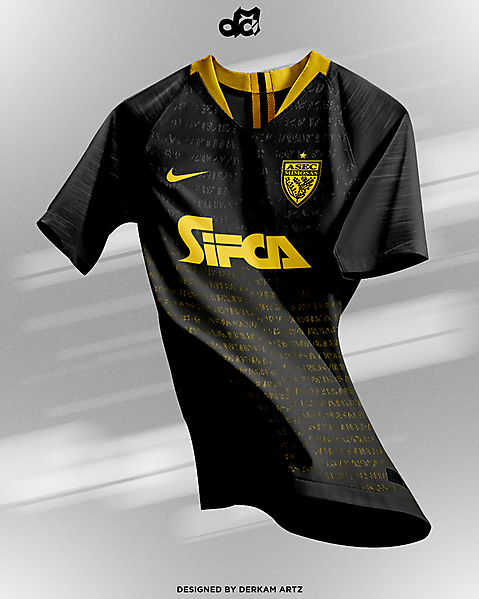 Asec Mimosas - Away Kit