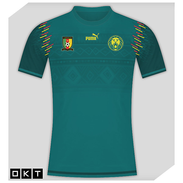 Cameroon Home Shirt