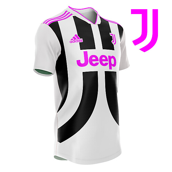 Juve- mirrored J's kit concept
