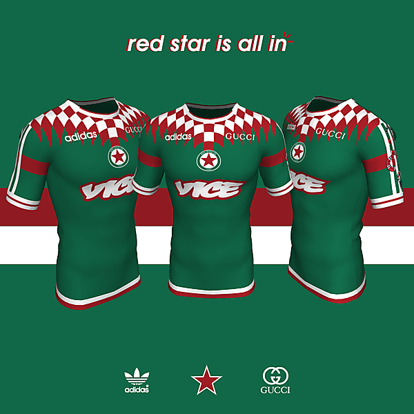 Red Star x adidas x Gucci