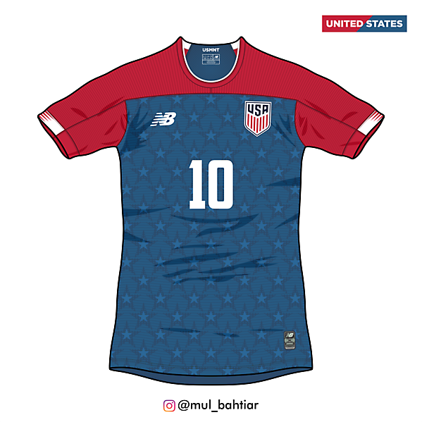 United States 2020 New Balance Away Jersey Concept