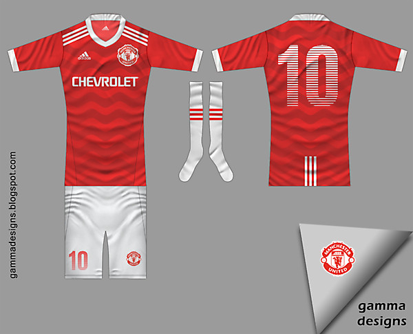 manchester utd by adidas
