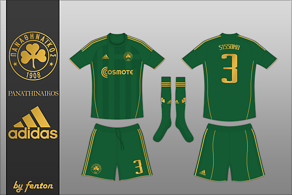 Panathinaikos Adidas Home