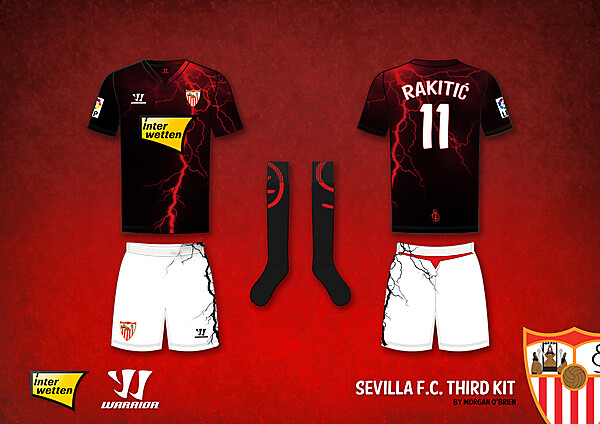 Sevilla F.C. Third Kit by Morgan O\'Brien