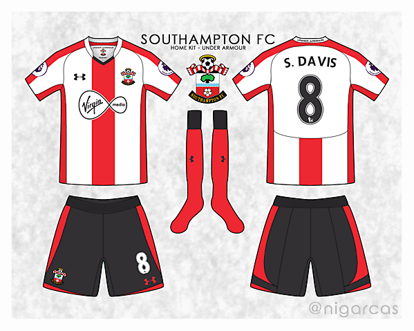 #saintsfc home kit