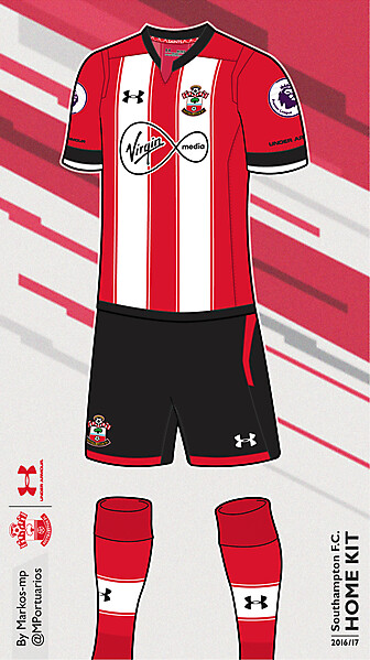 Southampton FC/Under Armour 16/17 (H)