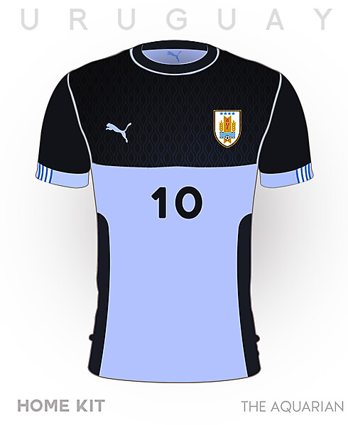 Uruguay World Cup Home Kit 2018