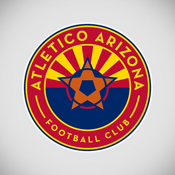 Atletico Arizona FC crest