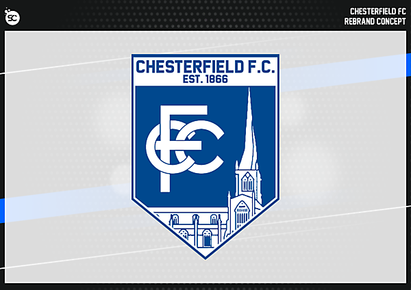 Chesterfield FC Badge version 1