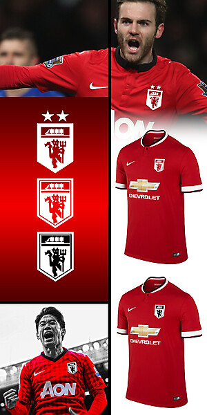 Man Utd fantasy kit badge