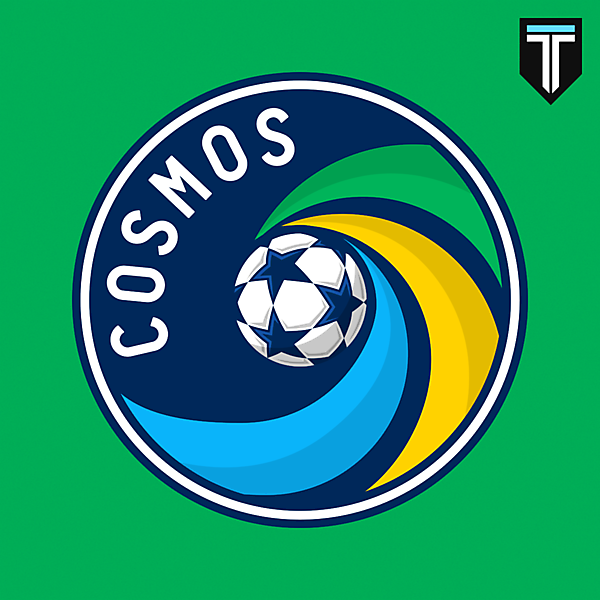 New York Cosmos - Crest Redesign
