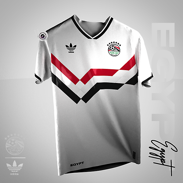 90s | Egypt classic football Shirt