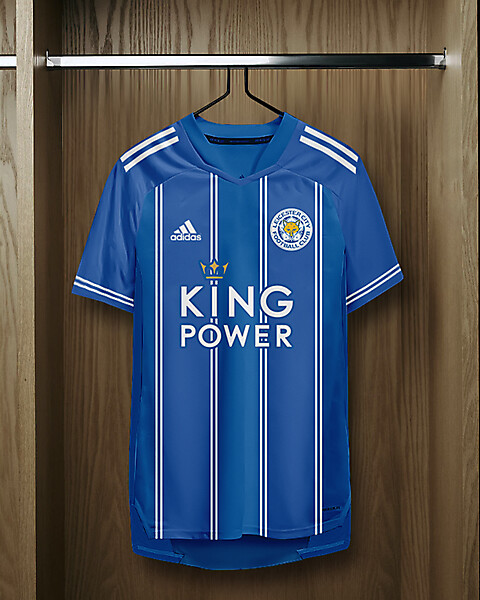 adidas Leicester City Home Shirt Concept