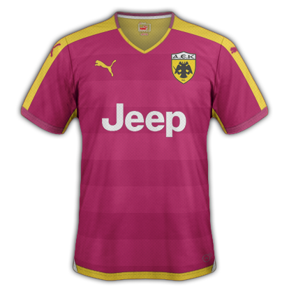 AEK Third kit for 2015/16 with Puma