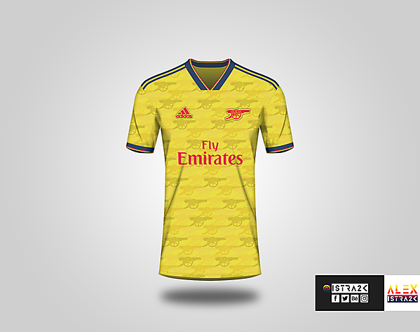 Arsenal X adidas - Away