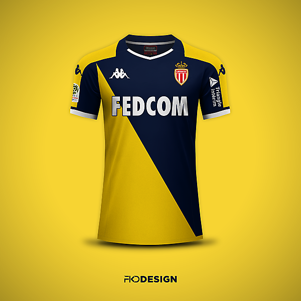 AS Monaco | Kappa | Away | Inspired by 1998-99