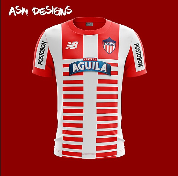 Atlético Junior New Balance 2018 Home Kit