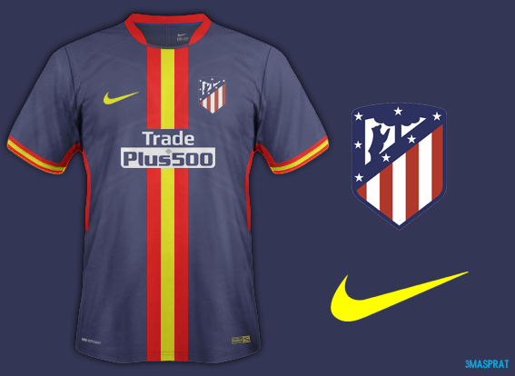 Atletico Madrid Away Fantasy Kit