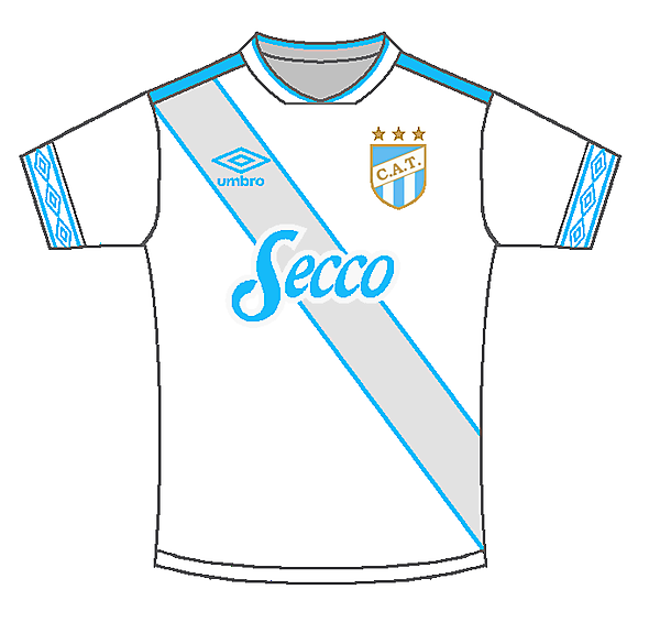 Atlético Tucuman Away kit - ⚡Sportix