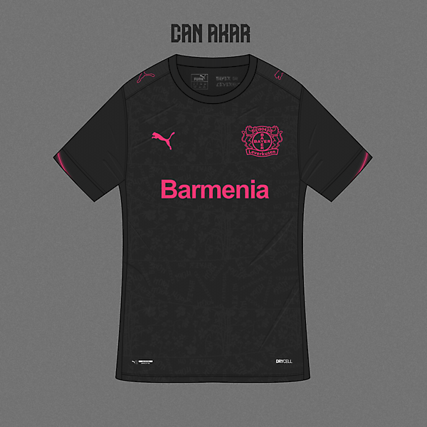 Bayer 04 Third Kit x Puma