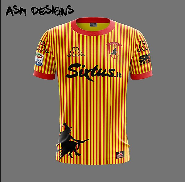Benevento Calcio Kappa 2018 Home Kit