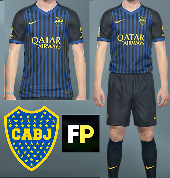Boca Juniors Third by @feliplayzz #1