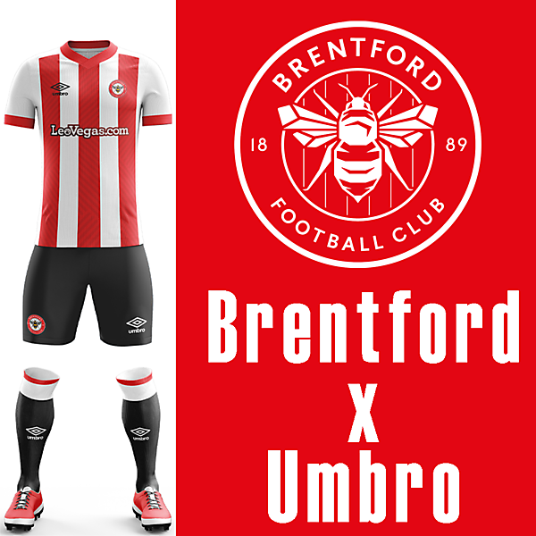 Brentford Home Umbro