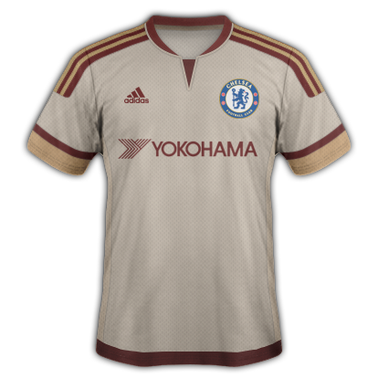 Chelsea Fantasy Away kit with Adidas