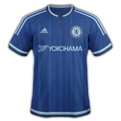 Chelsea Fantasy Home kit with Adidas