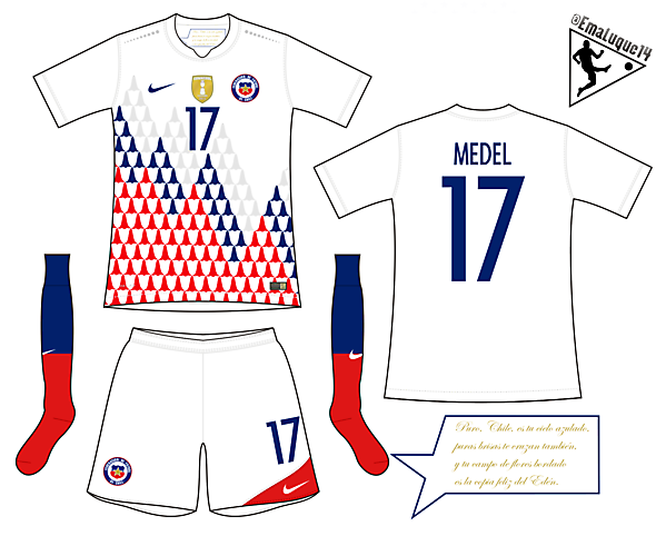 Chile - Away kit