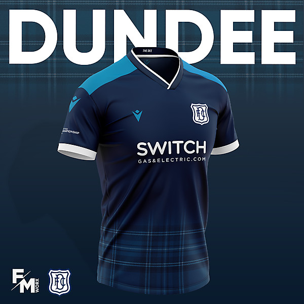 Dundee FC 2020/21 Concept