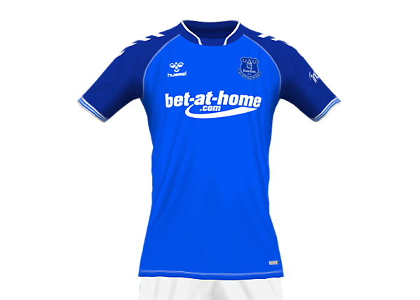 EVERTON 21-22 FANTASY HOME KIT