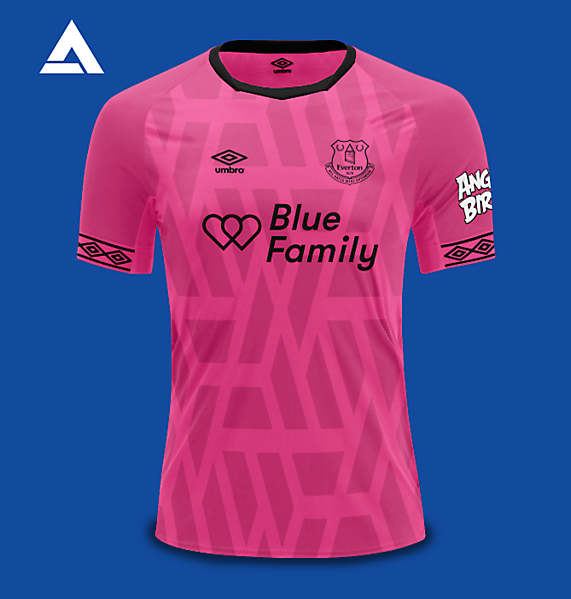 Everton Umbro 2021 Alternate Kit