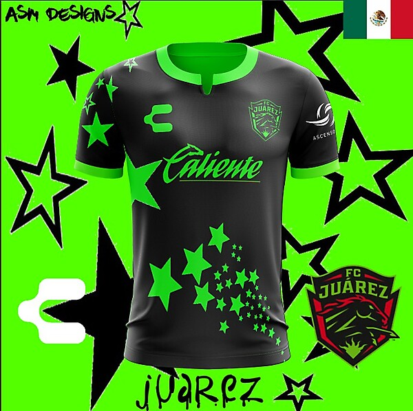 FC Juarez Charly 2018 Alternate kit