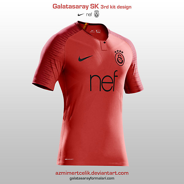 Galatasaray 3rd Kit Design