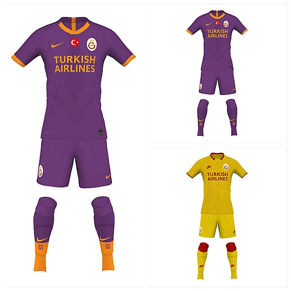 Galatasaray away and third 19/20 fantasy