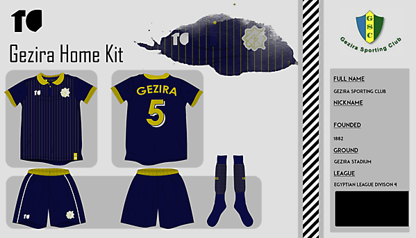 Gezira S.C Home Kit