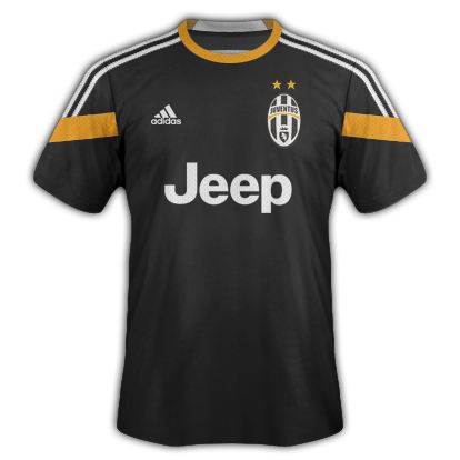 Juventus Third kit 2014/15 with Adidas