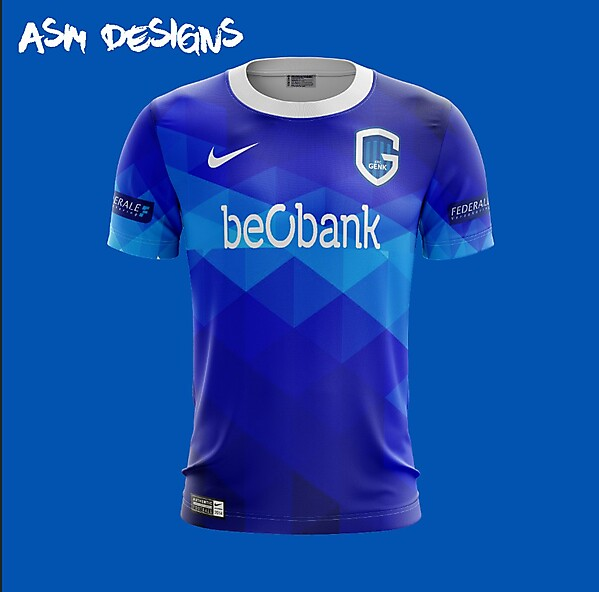K.R.C. Genk Nike 2018 Home Kit