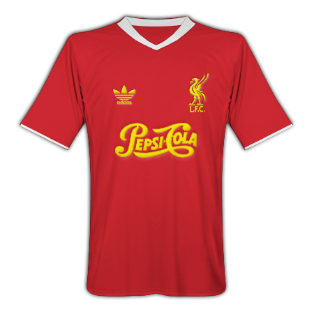 Liverpool Adidas Pepsi-Cola (Home)