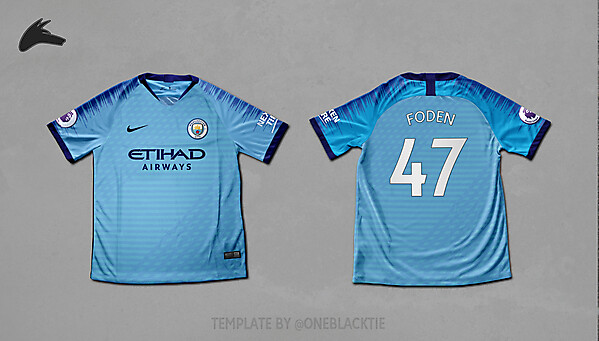 Man City Nike home concept