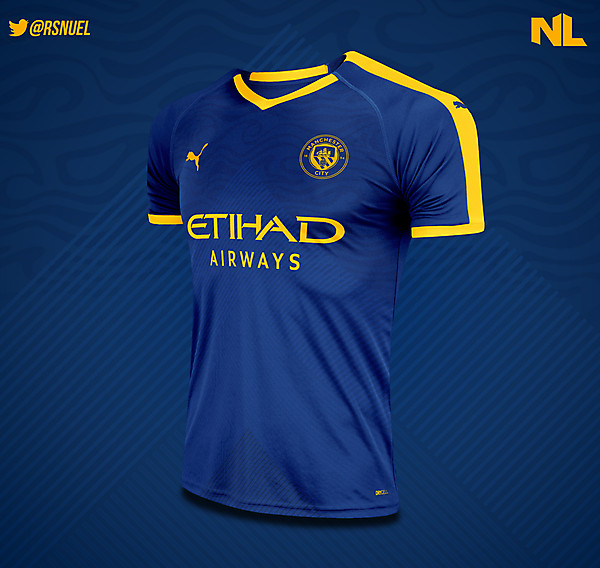 Manchester City - Third Kit Concept